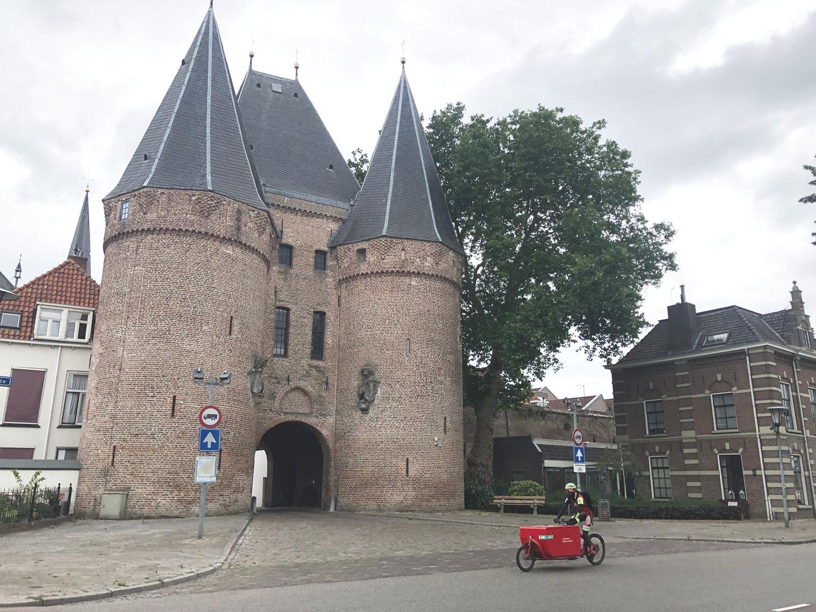 Cycloon opent fietskoeriersvestiging in Kampen