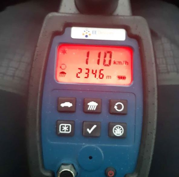 Politie vordert rijbewijs in na forse snelheidsovertreding