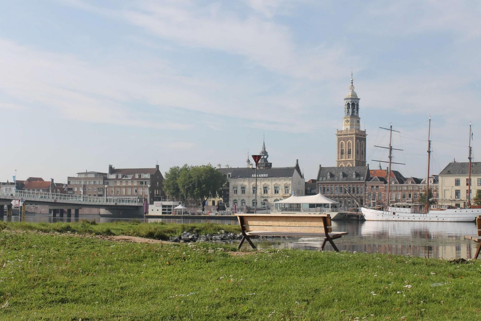 Kampen krijgt eindelijk een schoon, veilig en fraai stadsstrand