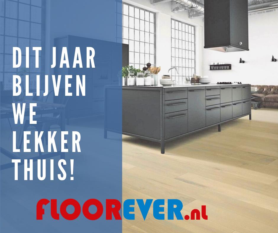 'Thuisblijvers krijgen bij een vloer van Floorever all-inclusive service'
