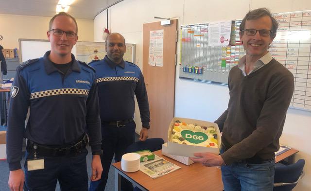 Valentijnstaart van D66 voor Kamper BOA's