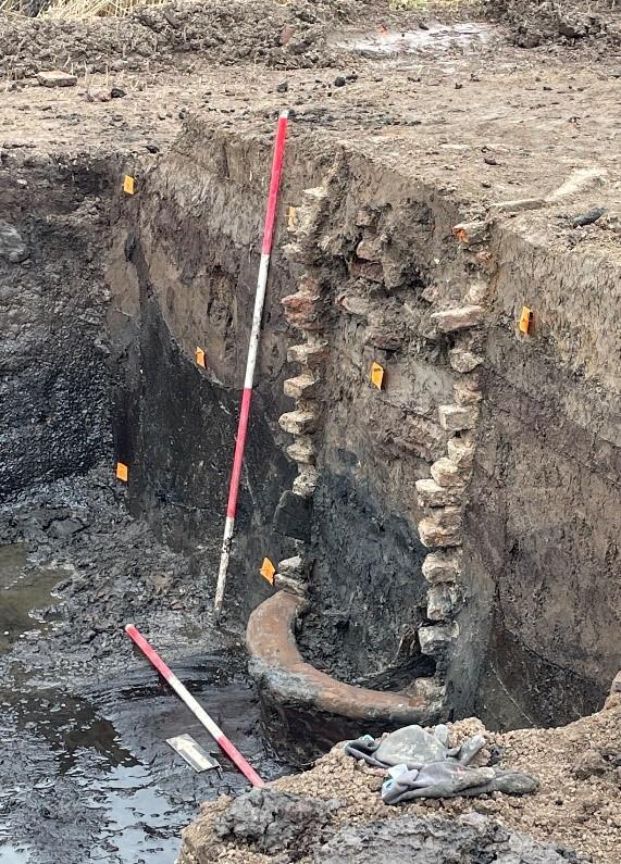 Waterput gevonden bij opgravingen Reevediep