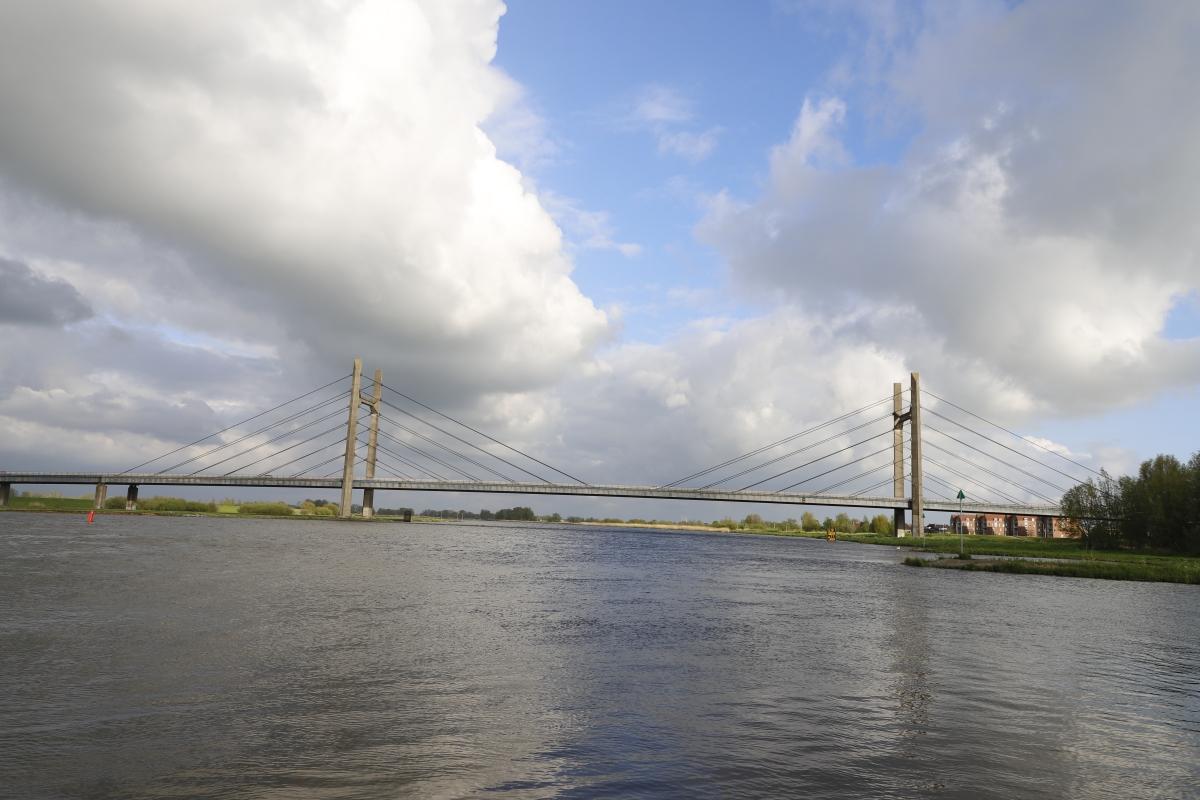 Afsluiting Molenbrug Kampen 25-29 juni