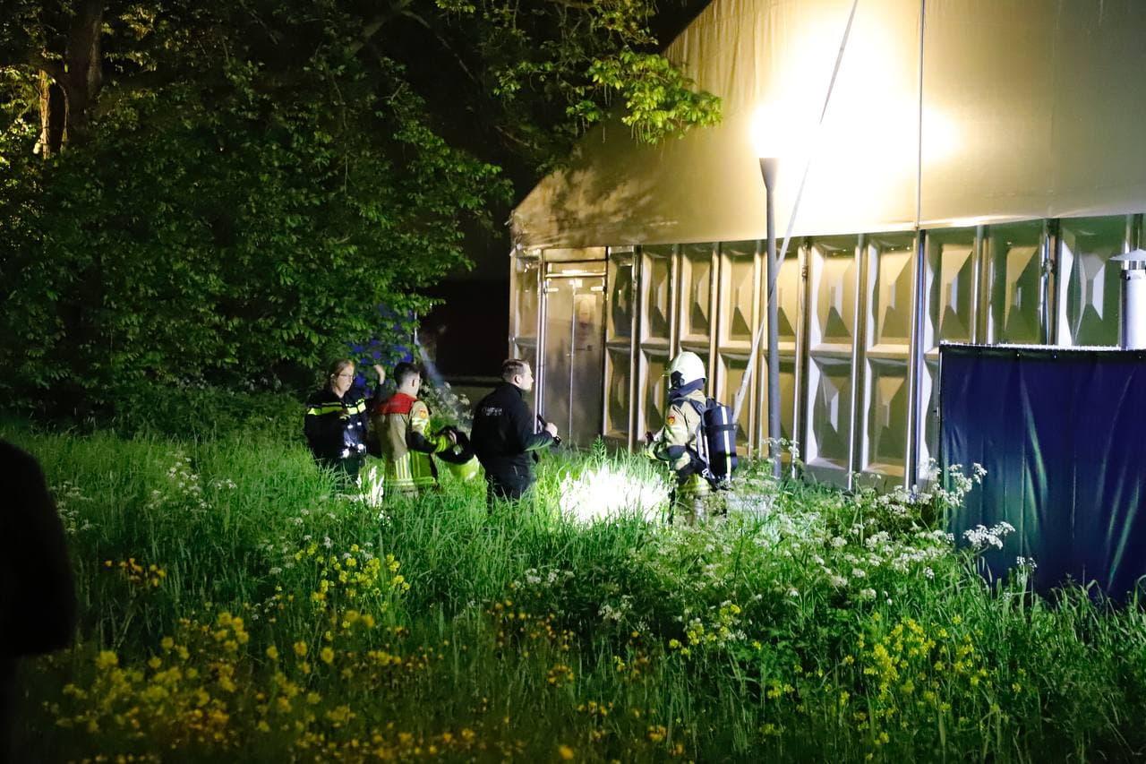 Knallen gehoord bij GGD vaccinatietent in Kampen