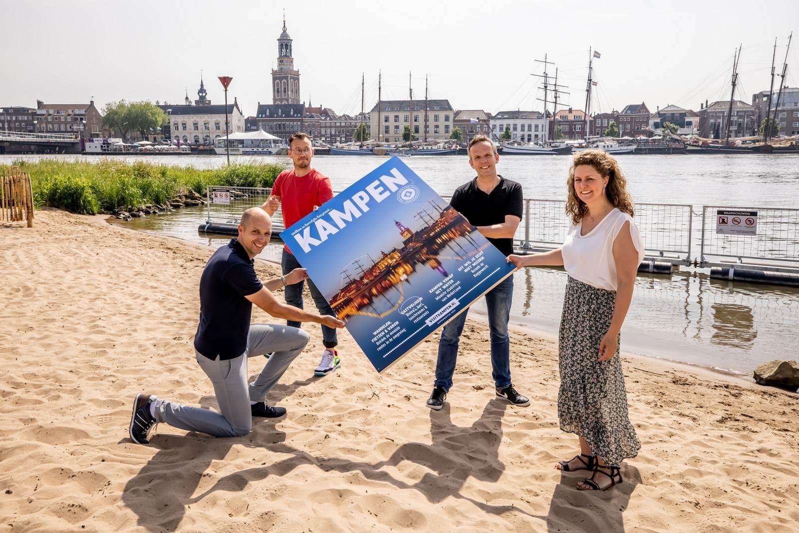 Lancering 'Toeristisch Magazine' voor Kampen