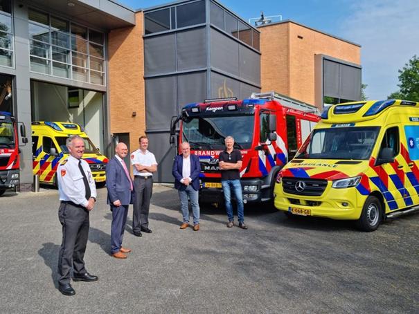Ambulancepost verhuisd naar brandweerkazerne Kampen