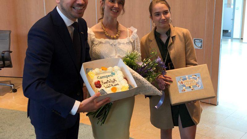 Sander de Rouwe, jongste burgemeester van Kampen