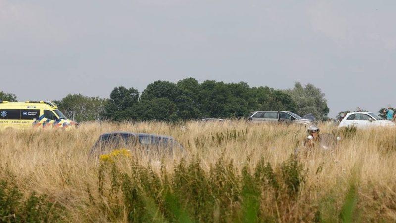 N50 afgesloten ter hoogte van afslag Kampen-Noord na ongeval