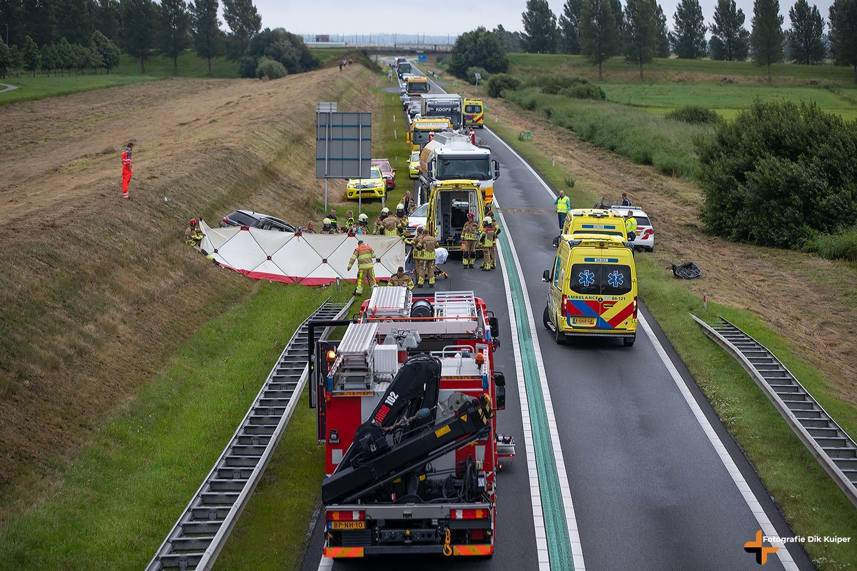 Opnieuw ernstig ongeval op de N50 bij Kampen