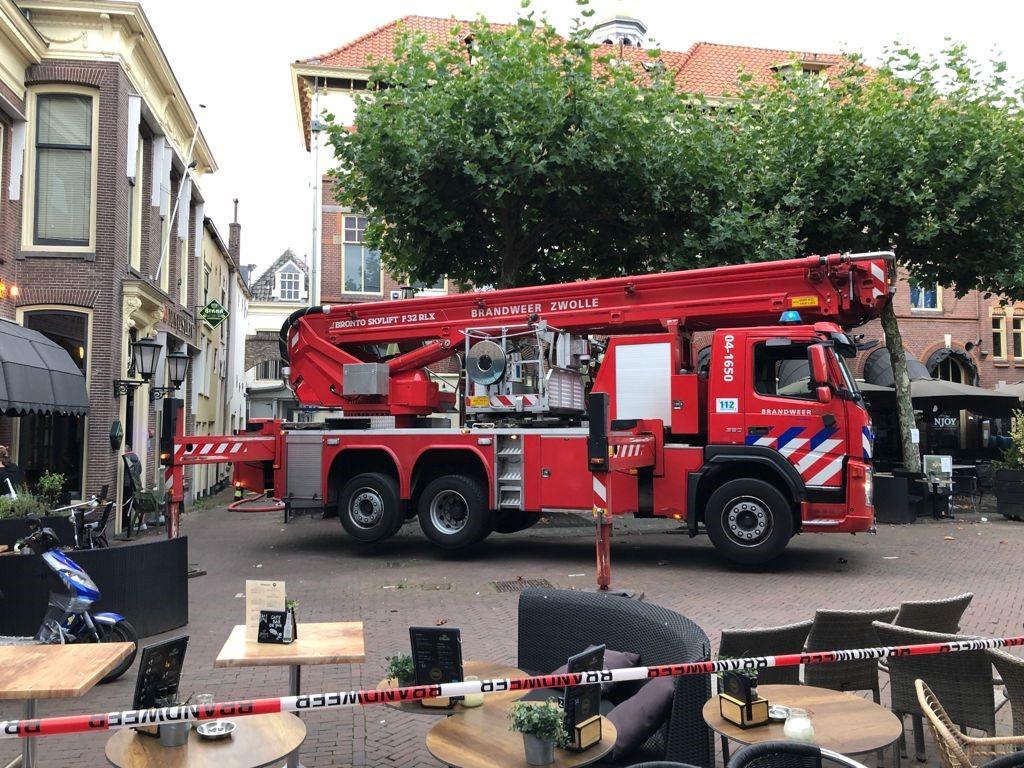 Brandmelding Kamper binnenstad