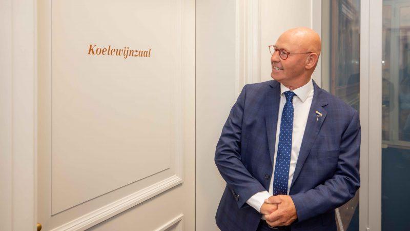 Zaal 'bestuur en recht' van Stedelijk Museum Kampen vernoemd naar Bort Koelewijn