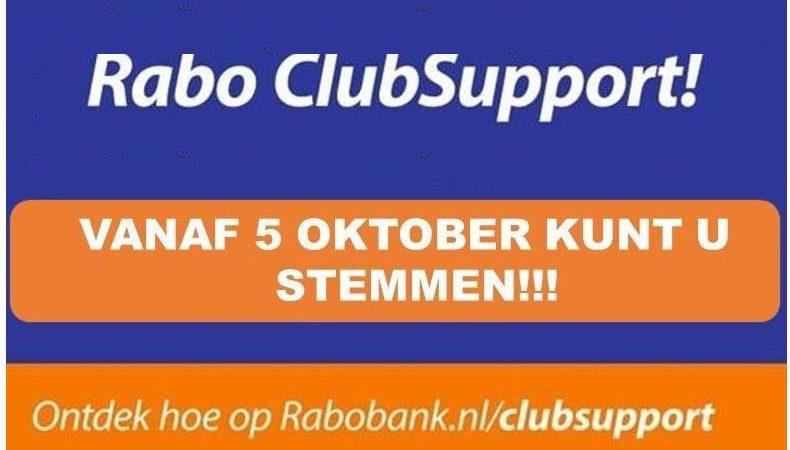 """Stem bij """"Rabo ClubSupport"""" op 'Live life' en 'De Mooiste Dag'"""