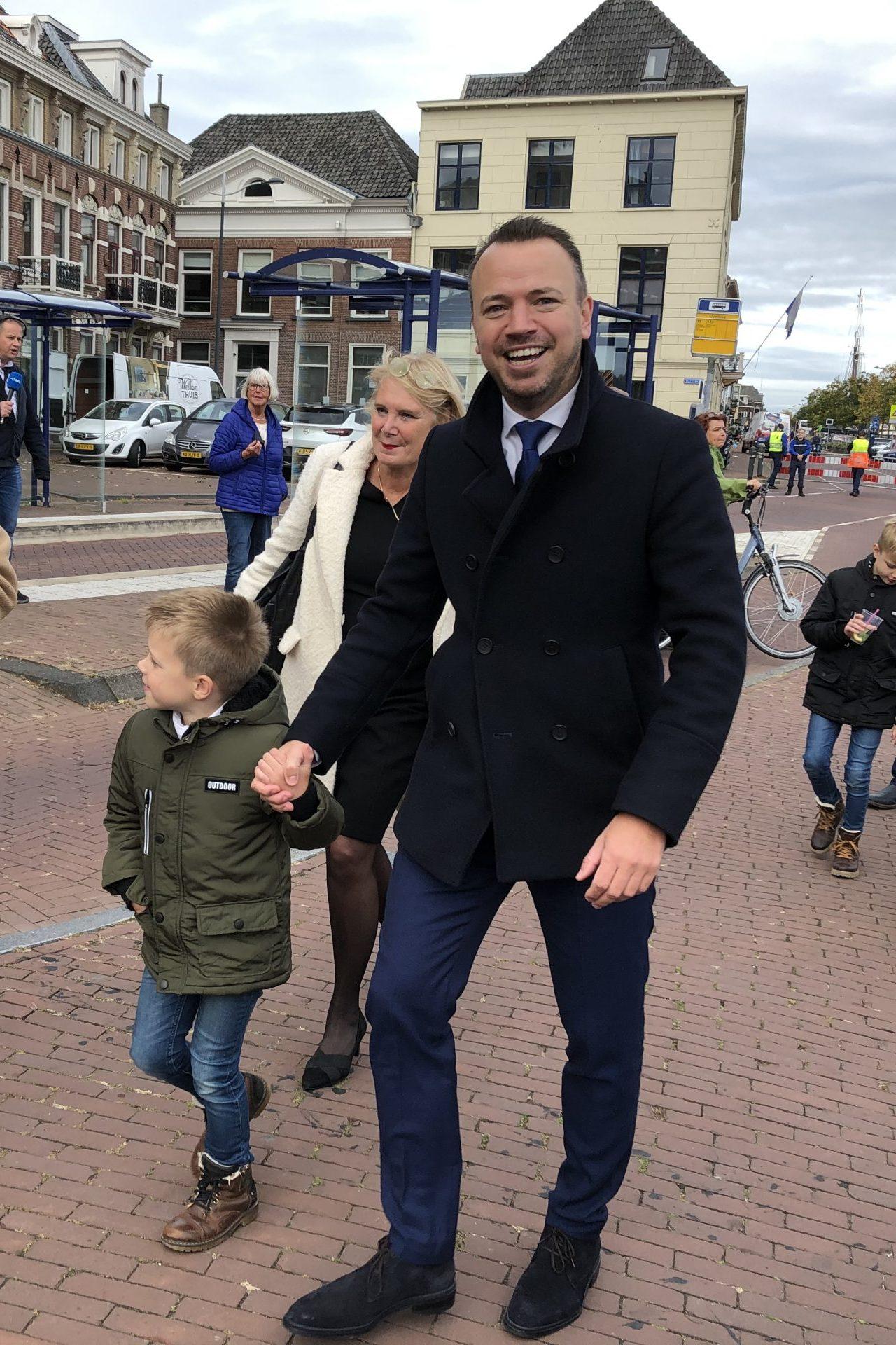 Sander de Rouwe geïnstalleerd als nieuwe burgemeester van Kampen